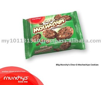 Munchy's Choc Mocha Chips 85g cookie