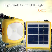 Multifunction outdoor camping solar light Solar power AC USB mobile phone charger solar camping lamp custom FM radio N71018