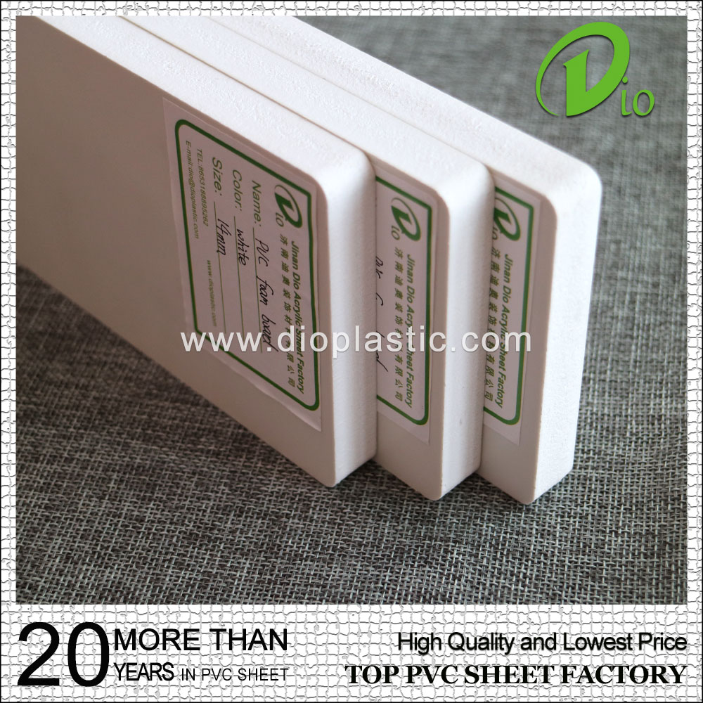 factory direct sale high quality 48x96inch pvc foam core board wholesale