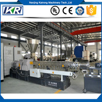 Filament PVC UPVC Conical Twin Screw Plastic Extruder/Twin Screw Color Masterbatch Compounding Granules Extruder Machine