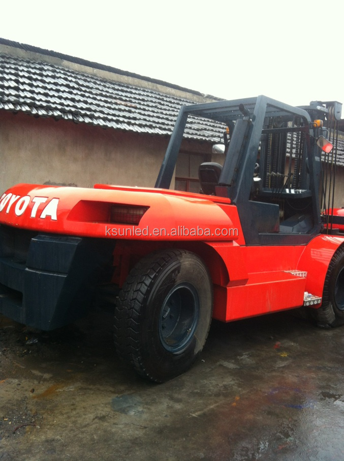 Used 20 ton cheap toyota forklift FD200 for hot sale in shang hai