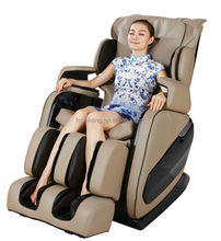 2015 Cheap slide zero gravity massage chair, 3D massage chair with music