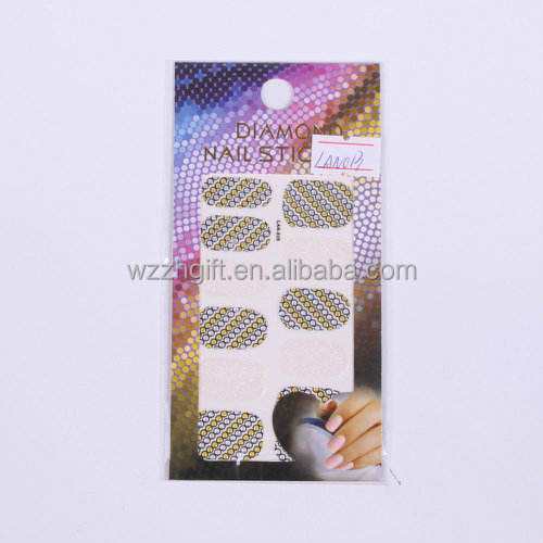 Hot Nail Decoration New Stone Design Nail Foil Patch Nail Art