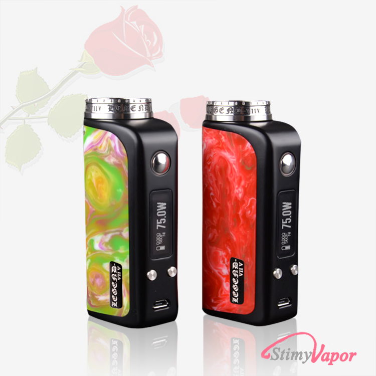 2016 new vape mods 75W huge cloud box mod vape with child-proof lock atomizer OEM accepted