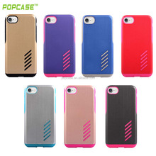 wholesale factory price pc and custom silicone cell phone case for iphone 7