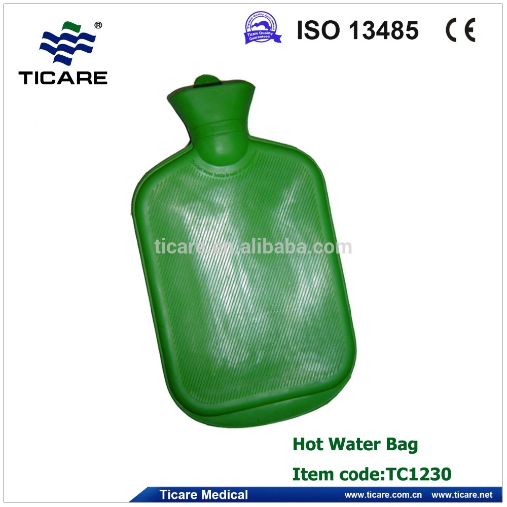Hot sale Rubber warm Hot Water Bag with Various Colors