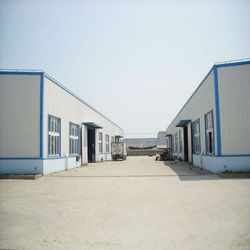 New style low cost pre engineered steel building