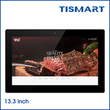 Cheap android tablet 13.3inch android 4.4 tablet digital advertising panel