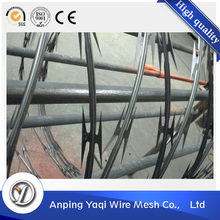 15 years experience low price galvanized concertina razor barbed wire