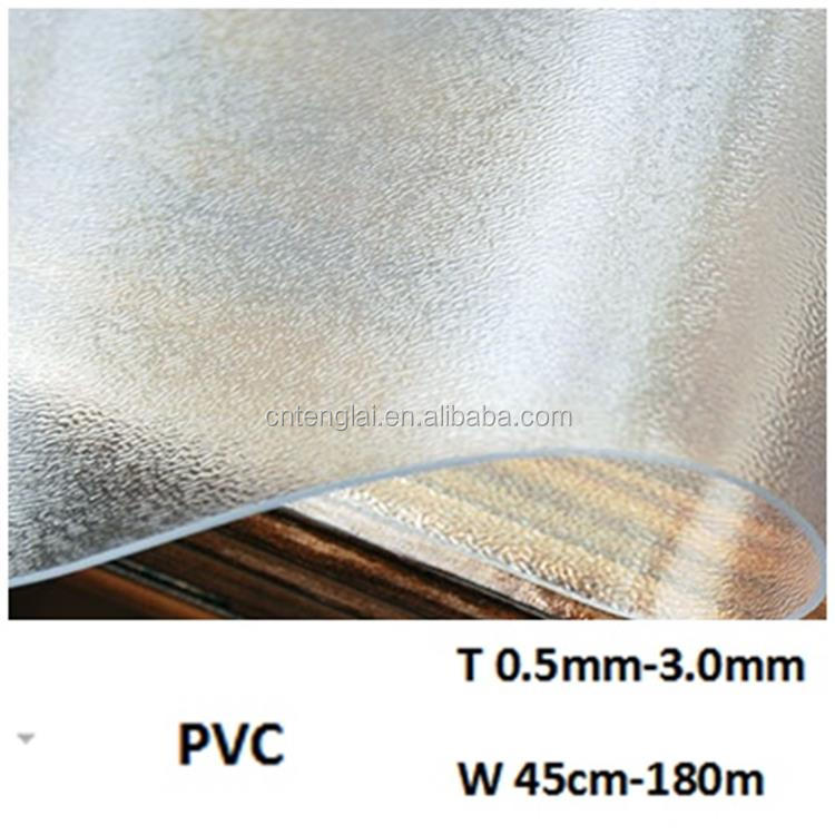 frosted PVC door curtain sheet