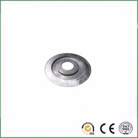 High precision anodize CNC turning machining aluminum part for motor use