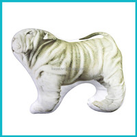 HOT SALE Animal 3D Dog Cushion with Microfiber inside