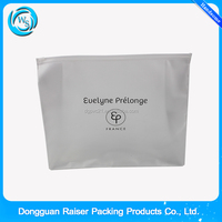Hot selling Flat clear plastic cheap garment plastic bags with zipper