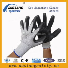 Slip-proof nitrile dots cut resistant gloves anti cutting gloves