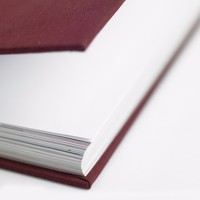 High quality cheap thick hardcover book printing with sewing binding