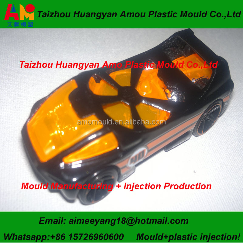 Injection Plastic Children Car Toy Mold making