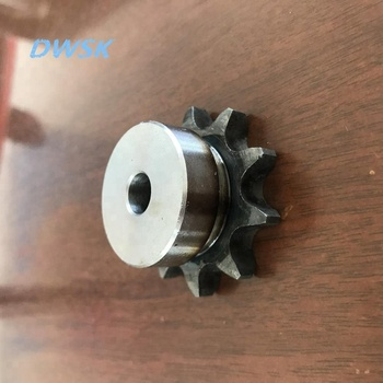 roller chain sprocket with hub