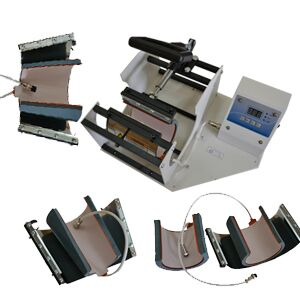 Cheap used 8 in 1 t-shirt heat press printing machine