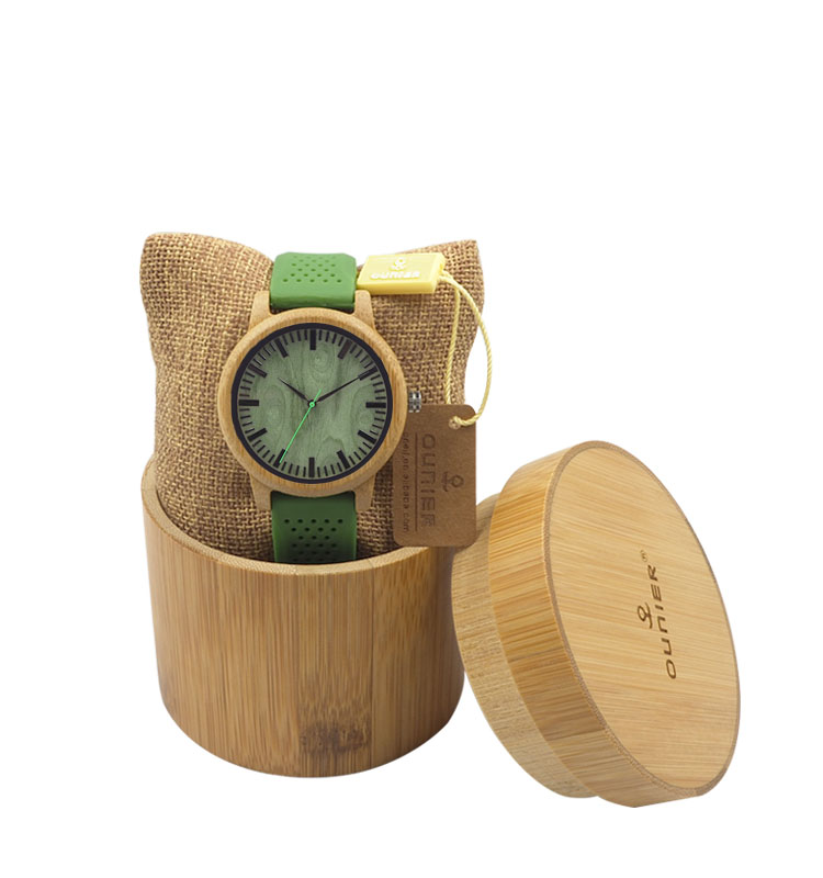 Cool Green Silicone Wrist Watch hottest sale alibaba express china wooden cases