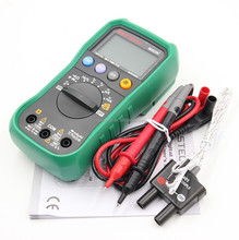 MS8239C Digital Multimeter Auto Range AC DC Voltmeter Ammeter Temperature Tester 600V 4000 Counts LCD Backlight