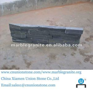 Chinese Low Price A Grade Nature Black Slate Tile