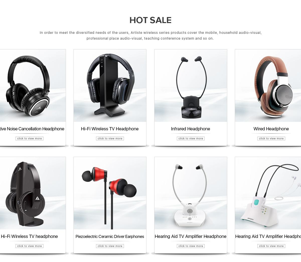 Guangzhou Artiste Technology Co., Ltd. - Wireless Headset, Wired Headset