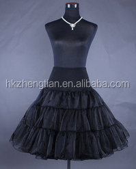 Wholesale Colorful Tulle Underskirt Petticoat For Women Dresses