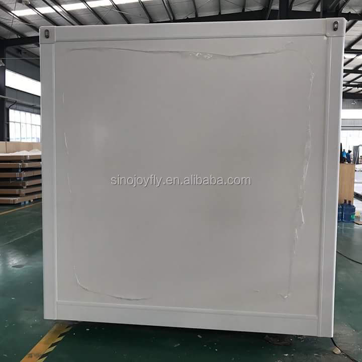 Corrugated aluminum sheet truck body