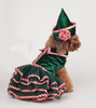 2017 hot sell Christmas Party Pet Dog XMAS Dress Pet Clothes