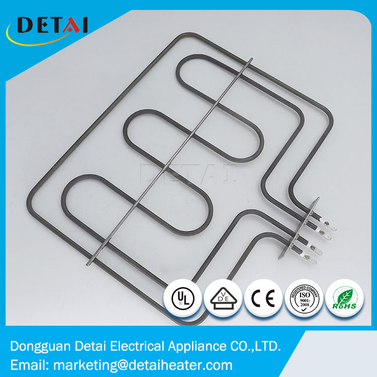 Customized stainless steel electric heating element for commercial oven