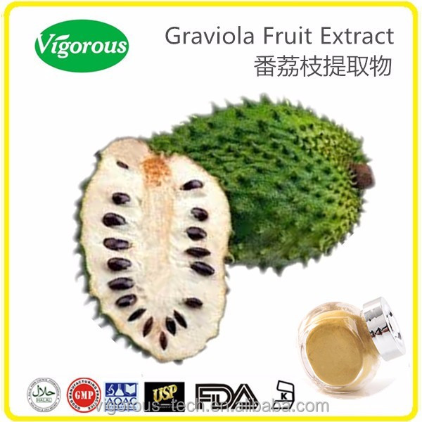 100% Natural 15:1 Graviola Extract/Annona Muricata extract/Graviola fruit Extract