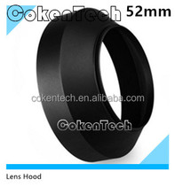 52mm Wide Angle Lens Hood for Any 52mm Caliber Lens Camera