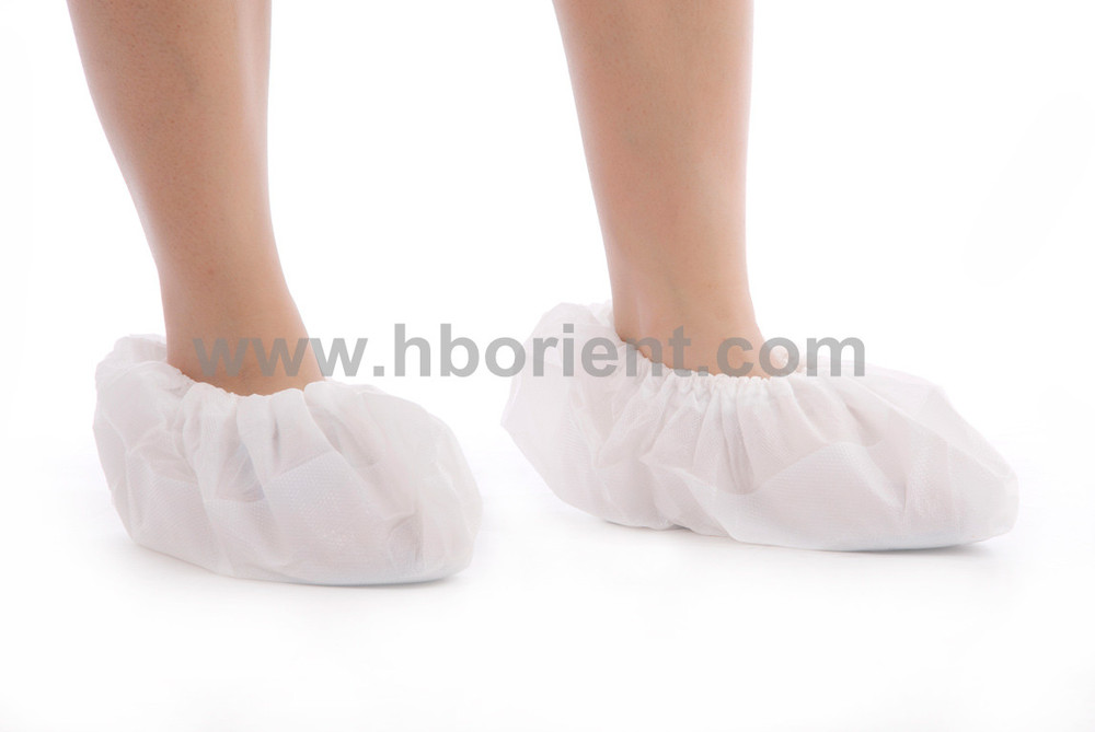 Surgical waterproof nonslip PP CPE shoe covers