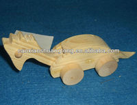 new best seller promotional small lovely dragon-shaped wooden toy boat models for kids