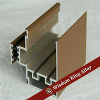 Power Coated Durable Aluminum Window and Door Profile / Aluminum Profile Manufacturer in China