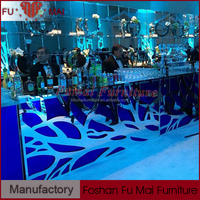 KTV Party led club table led glass table/led lit bar desk