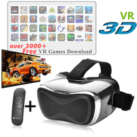 Top selling good quality plastic download video blue 3gp 3D virtual reality omimo 3D vr glasses