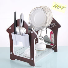 Kitchen dish drainer rack durable chrome plated steel