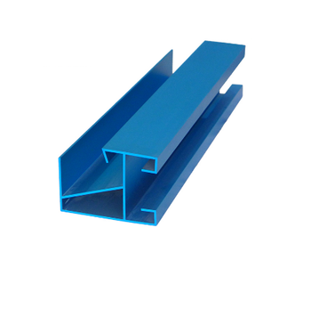 Anodized Aluminum Frame Profile,Aluminium Profile For Tent And Advertising Textile 6005 T5 Aluminum Extrusion