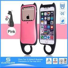 Stylish protective black holster case with belt clip for iphone 4 4s