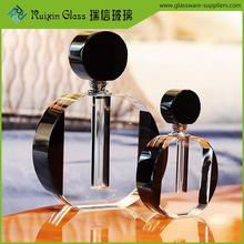 Portable small refillable perfume empty glass bottle,decorative glass bottles