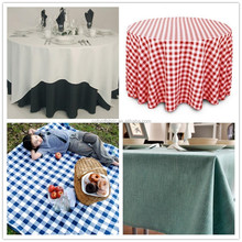 100% polyester table cloth for restaurant
