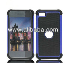 hot selling 3-in-1 football back covers for blackberry;for BB Z10