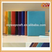 most fashional a5 pu leather notebook cover