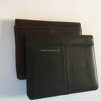 leather portfolio for Ipad/ iPad mini/ipad 2