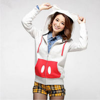 animal ears hoodie,cute hoodie for girls