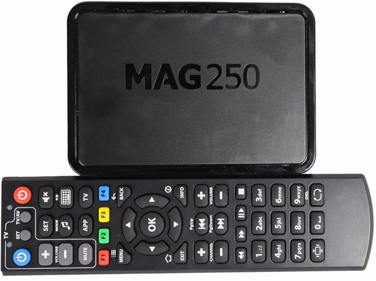 SYTA Iptv Set Top Box Mag 250 Linux IPTV Box Mag250 Free Remote Control with IPTV account
