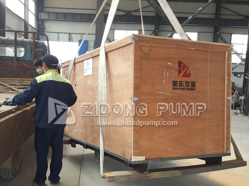 Single Stage Rubber Liner Slurry Pumps