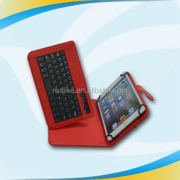 double-duty portable new arrival back aluminium+pu leather case for ipad air 5 keyboard ,New arrival high quality microfiber