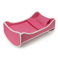 Factory direct fashion Plastic Baby Doll Crib Furniture Baby Toy Doll Bed
